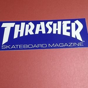 Thrashed Skateboard Magazine Decal
